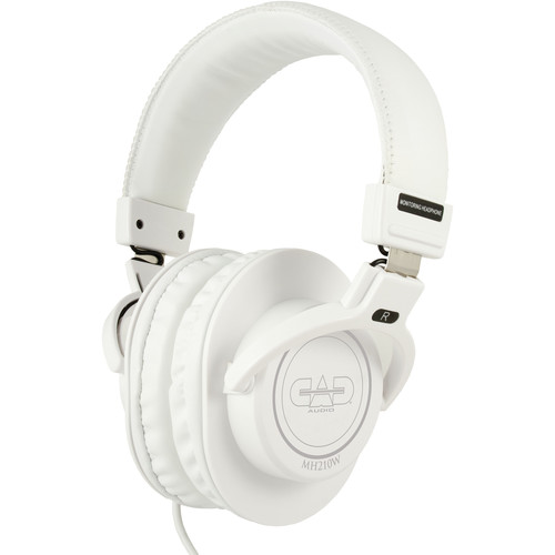 CAD MH210 Studio Headphones (White)