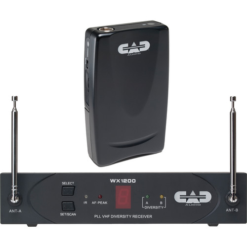 CAD StagePass WX1210 Wireless Bodypack System