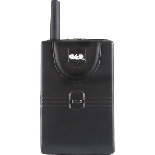 CAD TXBGXLV Bodypack Transmitter for GXLV Wireless System (H: 185.3, 213.74 MHz)