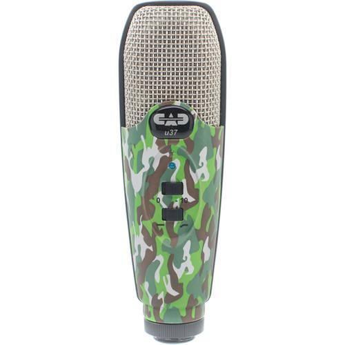 CAD U37 USB Studio Condenser Recording Microphone (Camouflage)