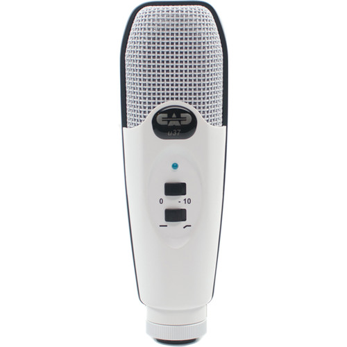 CAD U37 USB Studio Condenser Recording Microphone (White)