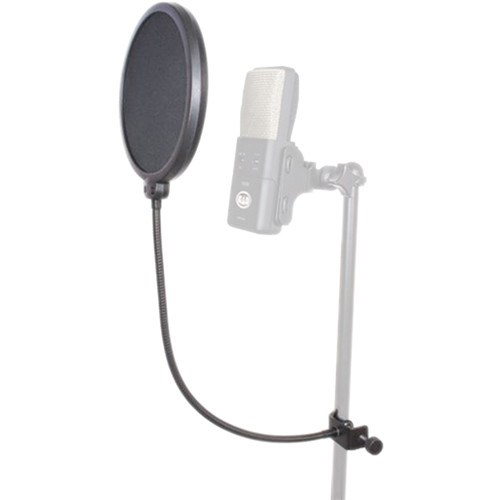 "CAD VoxPop 6"" Pop Filter on 14"" Gooseneck"