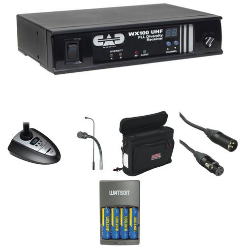 CAD WX100 Portable Wireless Gooseneck System Kit