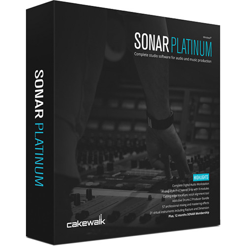 Cakewalk SONAR Platinum - Recording, Mixing, Mastering Software (Educational 5 Station Lab Pack)