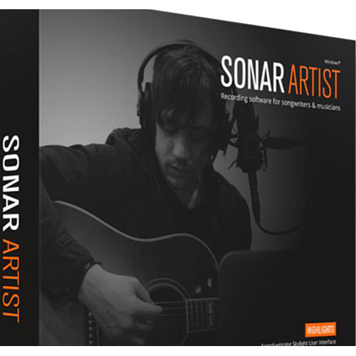 Cakewalk Sonar Artist Upgrade from Sonar Home Studio - Music Production Software (Download)