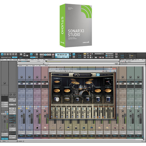 Cakewalk Sonar X3 Studio - Professional Recording, Mixing, Mastering Software (Download)