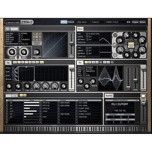 Cakewalk Z3TA+ 2 - Virtual Synthesizer
