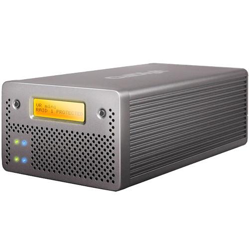 CalDigit VR mini 2 2TB 2-Bay USB 3.0 Raid Array (2 x 1TB)