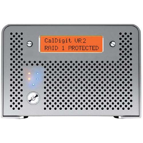 CalDigit VR2 16TB 2-Bay USB 3.1 Gen 1 Raid Array (2 x 8TB)