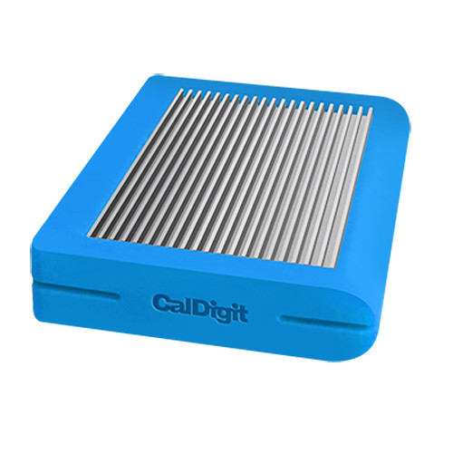 CalDigit Tuff USB 3.1 Type-C Storage Drive (1TB SSD, Blue)