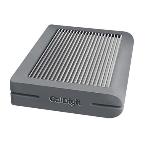 CalDigit Tuff USB 3.1 Type-C Storage Drive (1TB SSD, Gray)