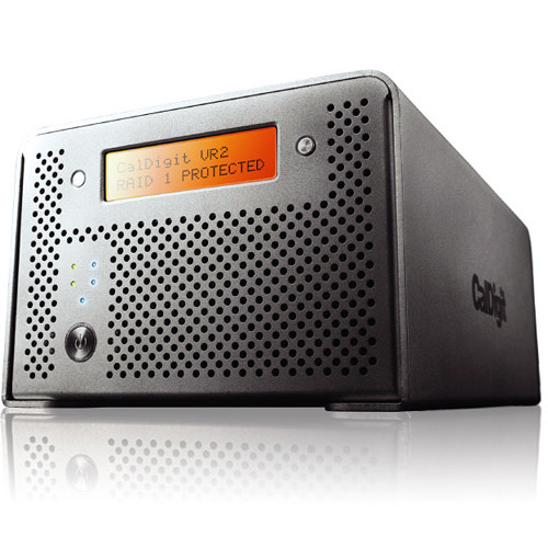 CalDigit VR2 4TB 2-Bay USB 3.0 Raid Array (2 x 2TB)