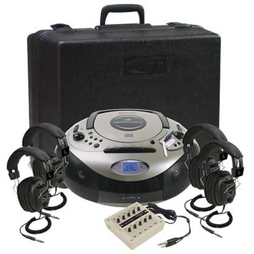 Califone 1886PLC Spirit SD Multimedia AM/FM/CD Player/Cassette Recorder