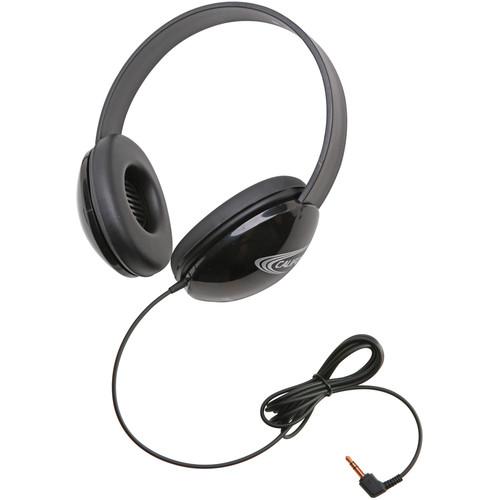 Califone 2800-BKP Listening First Stereo Headphone (Black)