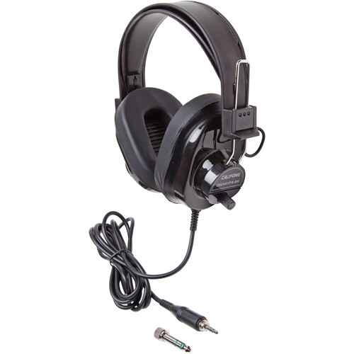 Califone Deluxe Stereo Headphone (Black)