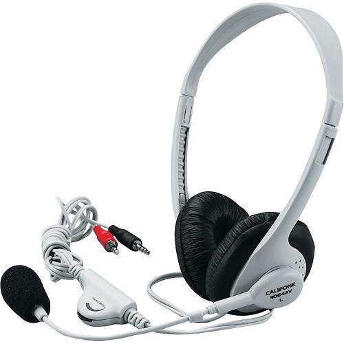Califone 3064AV Multimedia Stereo Headset (3.5mm Plug)