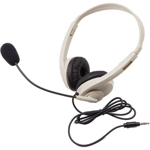 Califone 3064AVT Multimedia Stereo Headset (3.5mm To Go Plug)