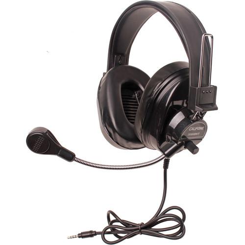 Califone 3066BKT Deluxe Multimedia Stereo Headset (3.5mm To Go Plug, Black)