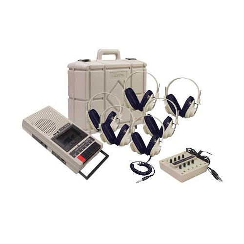 Califone CAS1500PLC Six Person Learning Center