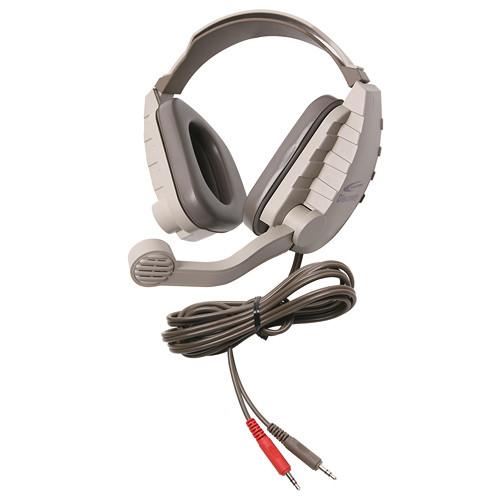 Califone DS-8V Discovery Stereo Binaural Headset (Gray & Beige)