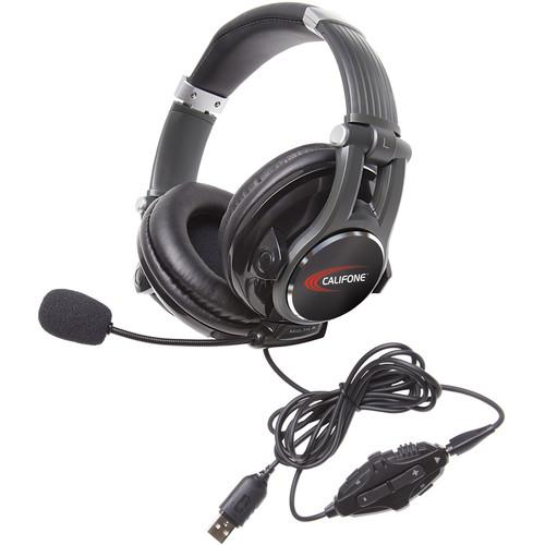 Califone Gaming 5.1/7.1 USB EQ Control Headset (Black)