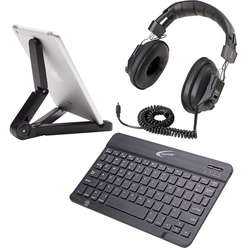 Califone Bluetooth Peripheral Pack with Headphone for Smartphone/Tablet