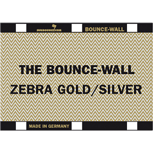 Sunbounce BOUNCE-WALL (Zebra Gold/Silver)