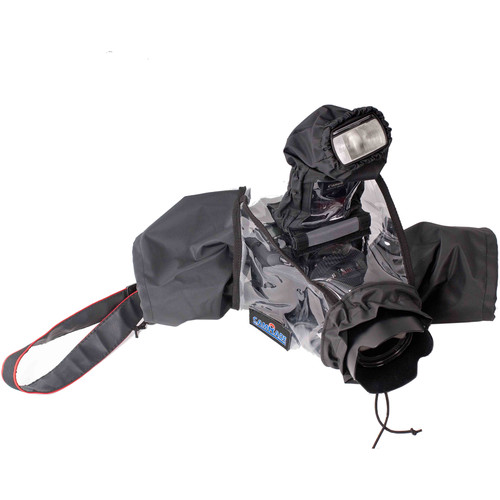 camRade wetSuit DSLR Rain Cover for Select Cameras with Attached Lens