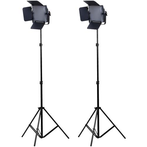 CamBee VL136B 36W 2 Video LED Lights Set