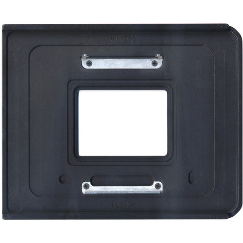 Cambo WDS-509 Graflok Plate for Mamiya 645 AFD or Phase One XF/DF Digital Backs