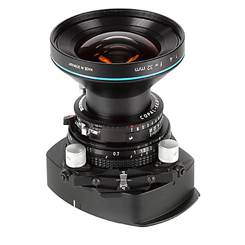 Cambo WTS-832 Tilt-Swing Lens Panel with Rodenstock HR Digaron-W 32mm f/4 Lens