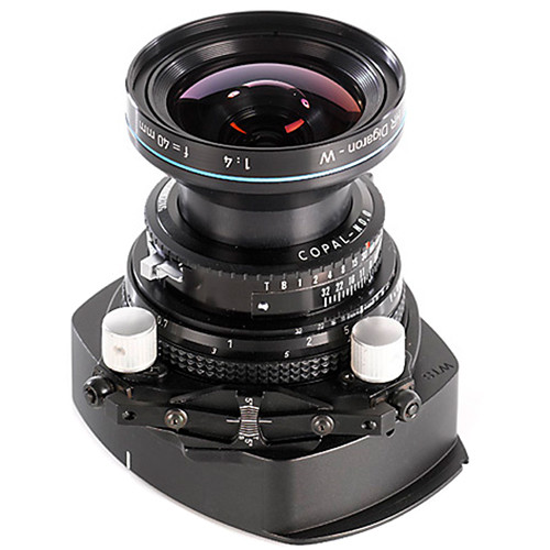 Cambo WTS-840 Tilt-Swing Lens Panel with Rodenstock HR Digaron-W 40mm f/4 Lens