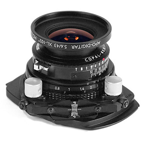 Cambo WTS-843 Tilt-Swing Lens Panel with Schneider Apo-Digitar 43mm f/5.6 XL Lens