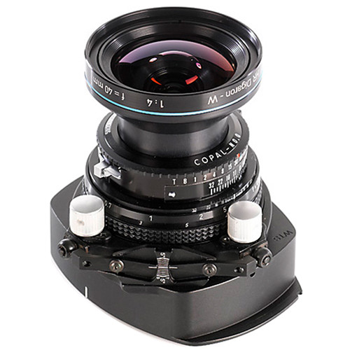 Cambo WTS-850 Tilt-Swing Lens Panel with Rodenstock HR Digaron-W 50mm f/4 Lens
