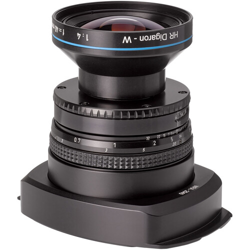 Cambo WRA-2040 Lens Panel with Rodenstock HR Digaron-W 40mm f/4 Lens