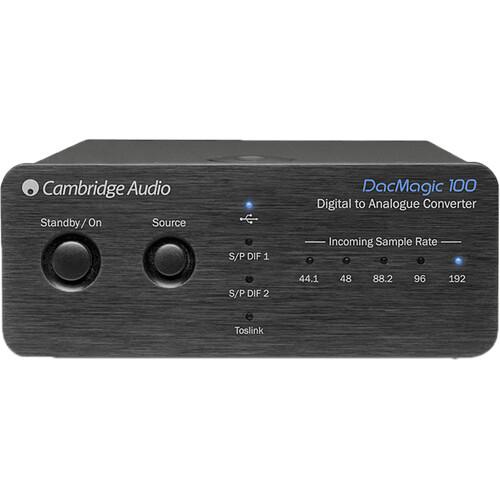 Cambridge Audio DacMagic 100 Digital-to-Analog Audio Converter (Silver)