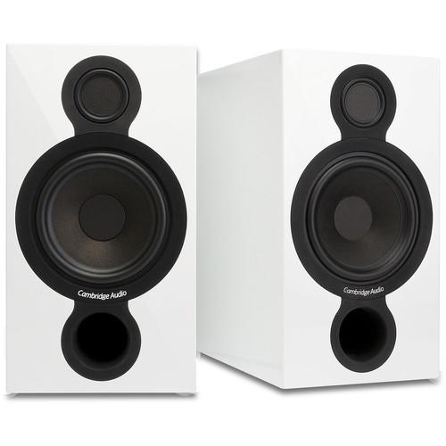 Cambridge Audio Aeromax 2 2-Way Bookshelf Speakers (Gloss White, Pair)
