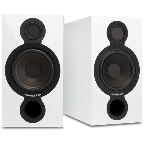 Cambridge Audio AeroMax 2 Bookshelf Speakers (Pair, Gloss White)