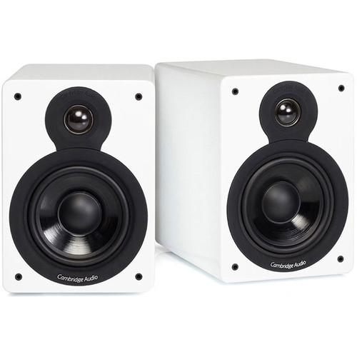 Cambridge Audio Minx XL 2-Way Bookshelf Speakers (Gloss White, Pair)