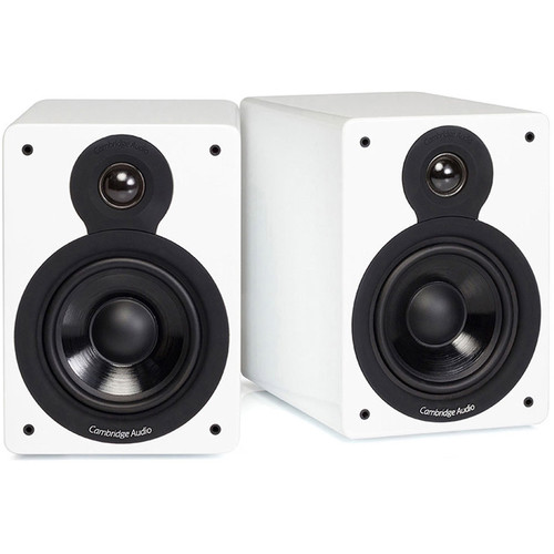 Cambridge Audio Minx XL Bookshelf Speaker (Gloss White)
