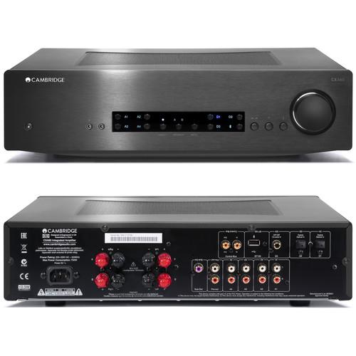 Cambridge Audio CXA60 Stereo 120W Integrated Amplifier (Black)