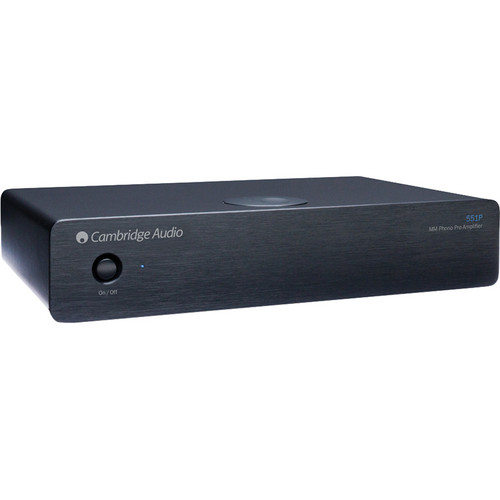 Cambridge Audio Azur 551P Moving Magnet (MM) Phono Preamplifier (Black)