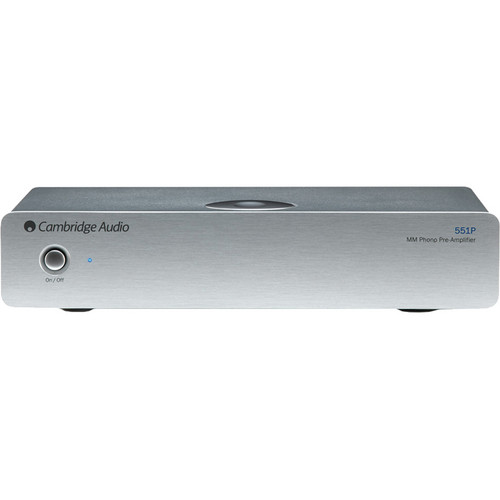 Cambridge Audio Azur 551P Moving Magnet (MM) Phono Preamplifier (Silver)