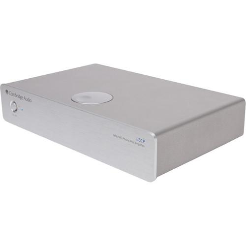 Cambridge Audio Azur 651P Moving Magnet (MM)/Moving Coil (MC) Phono Pre-amplifier (Silver)