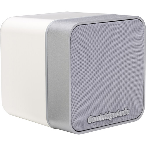 Cambridge Audio Minx Min 12 Bookshelf Speaker (Single, White)