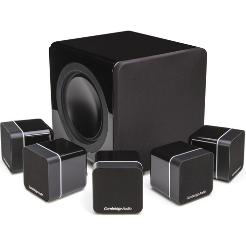 Cambridge Audio Minx Min 12 Speakers and X201 Subwoofer 5.1 System (Black)