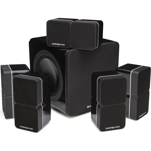 Cambridge Audio Minx S225-V3 5.1-Channel Speaker System (High Gloss Black)