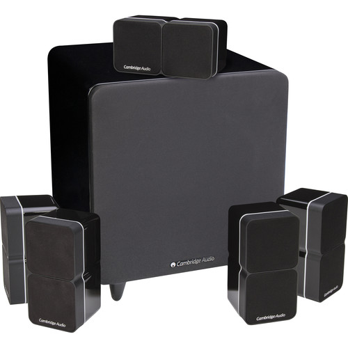Cambridge Audio Minx Min 22 Speakers and X301 Subwoofer 5.1 System (Black)