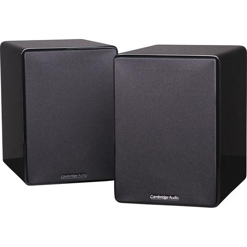 Cambridge Audio Minx XL 2-Way Bookshelf Speakers (Pair, Gloss Black)