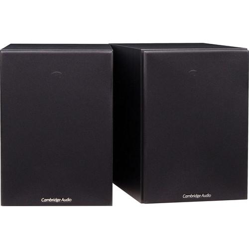 Cambridge Audio SX-50 2-Way Bookshelf Speakers (Pair, Black)